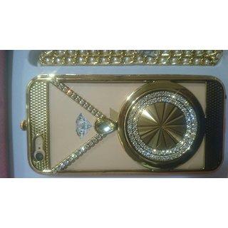IPH6,6S Luxury 24Crt Gold Look RhineStone Mobile Case