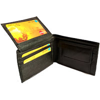 GoShamoy Black Leather Wallet With Card Holder Option Luxury designed