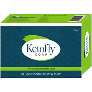 Ketofly antiseptic antifungal soap (Pack of 5) 75gm each