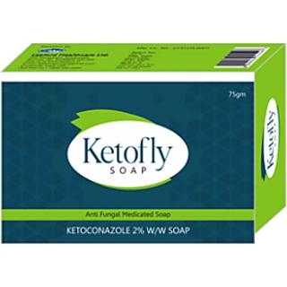 GS Ketofly Unisex Antiseptic Antifungal Control Soap (set of 10 pcs.) 75gm each