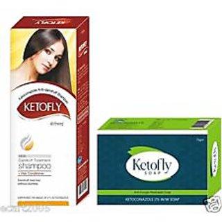 3 ketofly soap with 2 ketofly shampoo