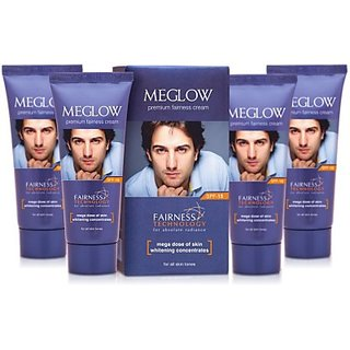 Meglow Whitening Fairness Cream For Men 4 pack(50grms ech)