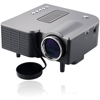 LED LCD Portable Black Projector