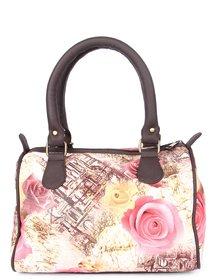 Zoe Makhoa Paris Rose Handbag