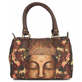 Zoe Makhoa Meditating Buddha Handbag
