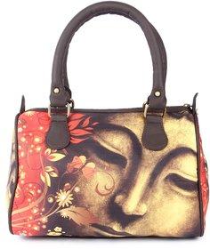Zoe Makhoa Floral Buddha Handbag