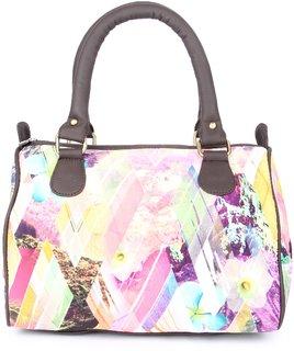 Zoe Makhoa Triangle Abstract Handbag