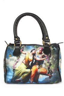 Zoe Makhoa Blue Radha Krishan Handbag