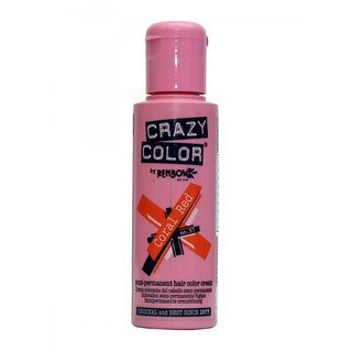 Crazy Color Coral Red - Semi Permanent Hair Color