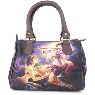 Zoe Makhoa Purple Radha Krishan Handbag