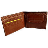 GoShamoy Brown Leather Wallet With Cards Holding Option Luxury designed
