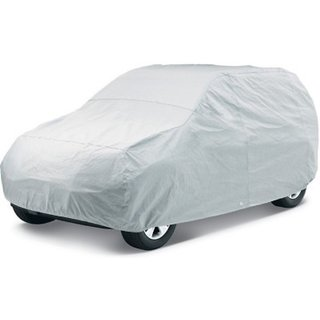 Mp Superior Quality Silver Matty Car Body Cover For Mahindra Xylo