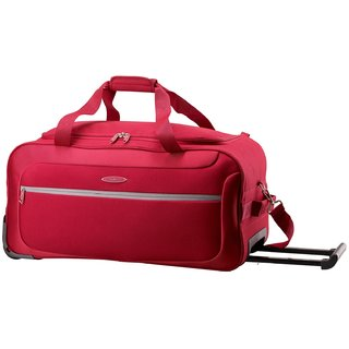 Skybags Geneva Duffle Trolly 62 (Red)