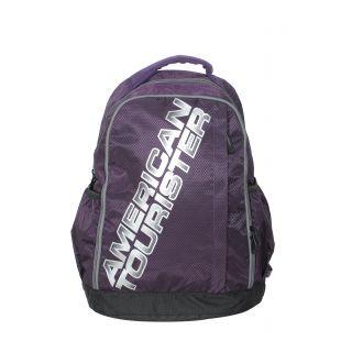 Purple  Grey Backpack R51 (0) 81 003