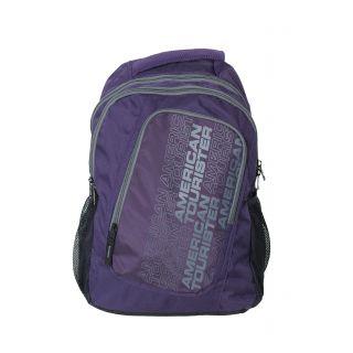 Purple  Grey Backpack R51 (0) 81 007
