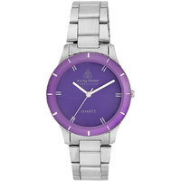 Ferry Rozer Purple Dial Analog Watch For Women (FR1035)