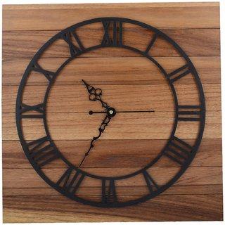 Kalakruti Wood Laser Cutting Wall Clock