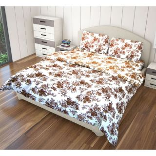 Just Linen 180 TC Cotton Floral Printed Single Size Ac Comforter