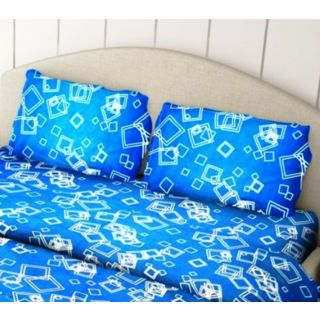 Just Linen 100 TC 100 Cotton Pair of Floral Printed Regular Size Pillow Covers