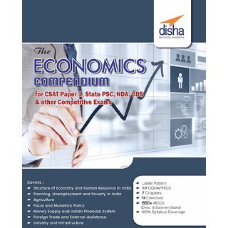 The Economics Compendium for CSAT Paper 1, State PCS, CDS, NDA  other Competitive Exams