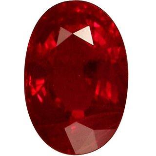Jaipur gemstone 6.25 ratti  ruby manik.