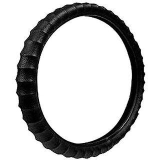 JMJW AND SONS Premium Finger Grip Steering Cover Black For Hyundai Sentro Xing