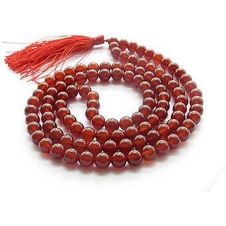 Red Agate (Hakik) Mala