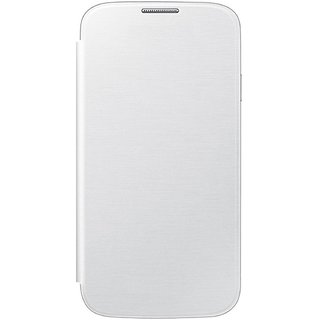 MuditMobi Premium Flip Case Cover For- Intex Aqua 3G - White