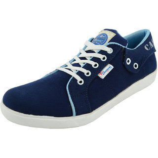 Chamois Mens Blue Casual Sneakers