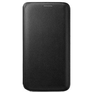 MuditMobi Premium Leather Flip Cover Case With Pocket For- Gionee P5 Mini - Black