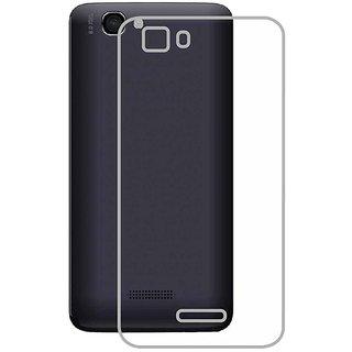 MuditMobi Soft Silicone TPU Crystal Soft Transparent Back Case Cover For- Micromax Canvas Mega E353