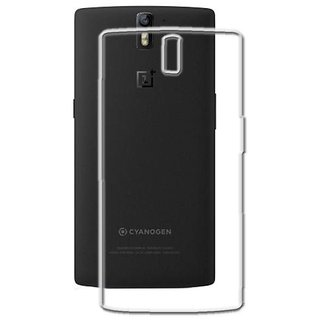 MuditMobi Soft Silicone TPU Crystal Soft Transparent Back Case Cover For- OnePlus 2