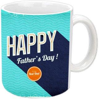 Fathers Day White Mug
