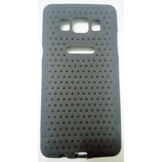 Clear Black Dot Flexible Soft  Slim Back Case Cover For Samsung Galaxy J7 (2016)
