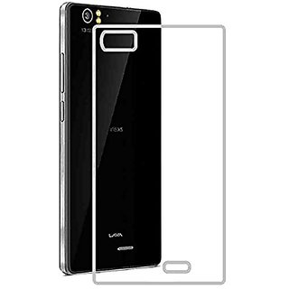 MuditMobi Soft Silicone TPU Crystal Soft Transparent Back Case Cover For- Lava Iris X5 4G
