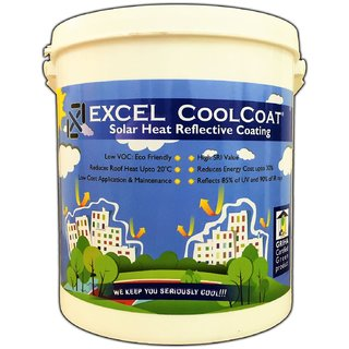 Solar Heat Reflective Roof coating / Cool Roof Paint / Summer cool paint / high albedo paint / Heat Reducing Roof cool C