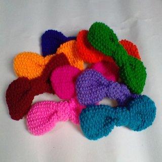 hair bow clip 2 piece