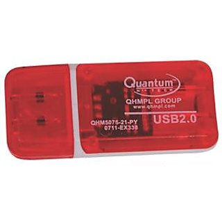 pack of 2 Quantum 5075 Card Reader 3 In 1