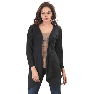 7353744fdd0 Buy Bfly Black Long Shrug Online - Get 50% Off