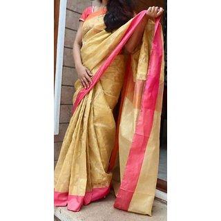 Banaras Tissue Gold Sarees