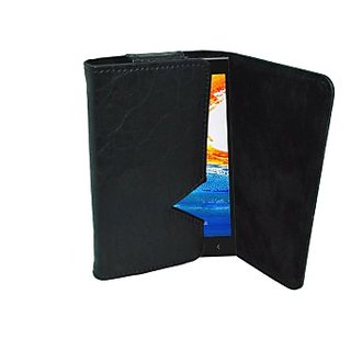 Totta Wallet Case Cover for Gionee Elife E7 Mini (Black)
