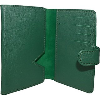 Totta Wallet Case Cover for iberry Auxus Stunner (Green)
