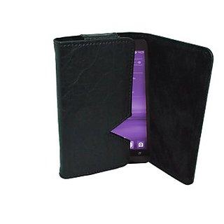 Totta Wallet Case Cover for InFocus M2 4G (Black)
