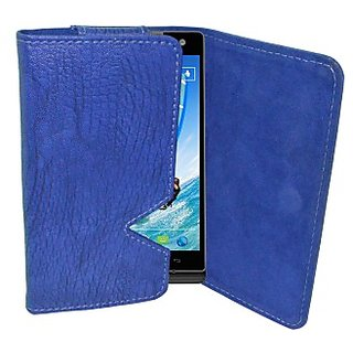 Totta Wallet Case Cover for BenQ B502 (Blue)