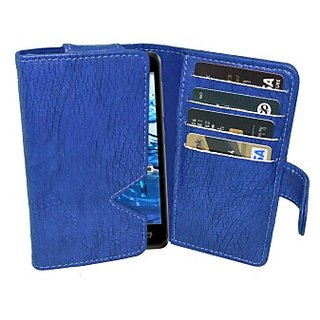 Totta Wallet Case Cover for Motorola Moto X Style (Blue)