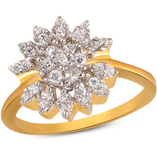 Inaya White  color ring for Women