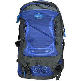 Texas USA Exclusive Imported Blue Trekking BagPack TXtrek22651blue TXtrek22651blue