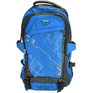 Texas USA Exclusive Imported Blue Trekking BagPack TXtrek22721blue TXtrek22721blue