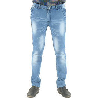 Blue Teazzers Mens Regular Fit Jeans-77817