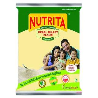 NUTRITA PEARL MILLET FLOUR (500 gms)
